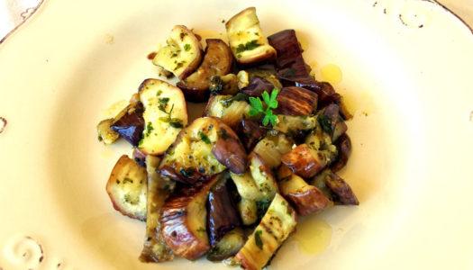 Melanzane al funghetto: ricetta veneziana