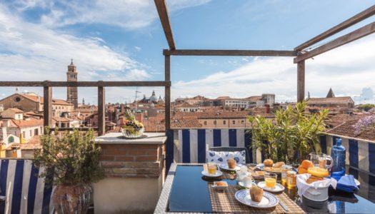 Soggiornare a Venezia: colazione con vista