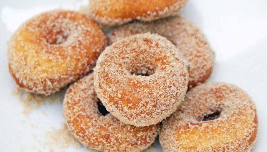 Ciambelline zuccherate di carnevale