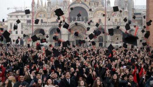 Rinfresco di laurea a Venezia