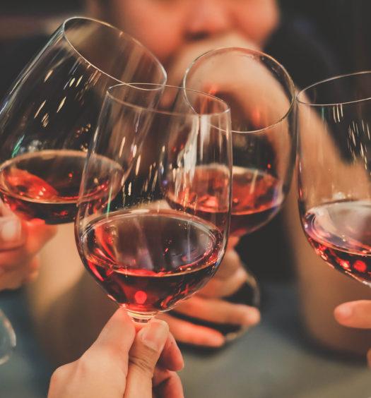 benefici del vino