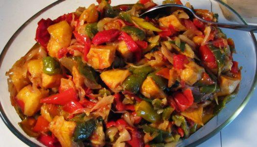 Peperonata: ricetta vegetariana