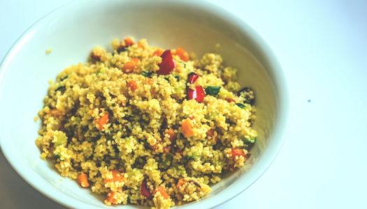 Cous cous alle verdure: ricetta vegetariana