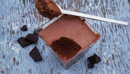 Mousse al cioccolato: ricetta facile