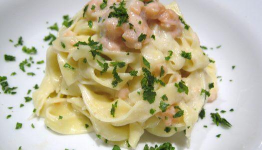 Ricette di pesce: pasta panna e salmone